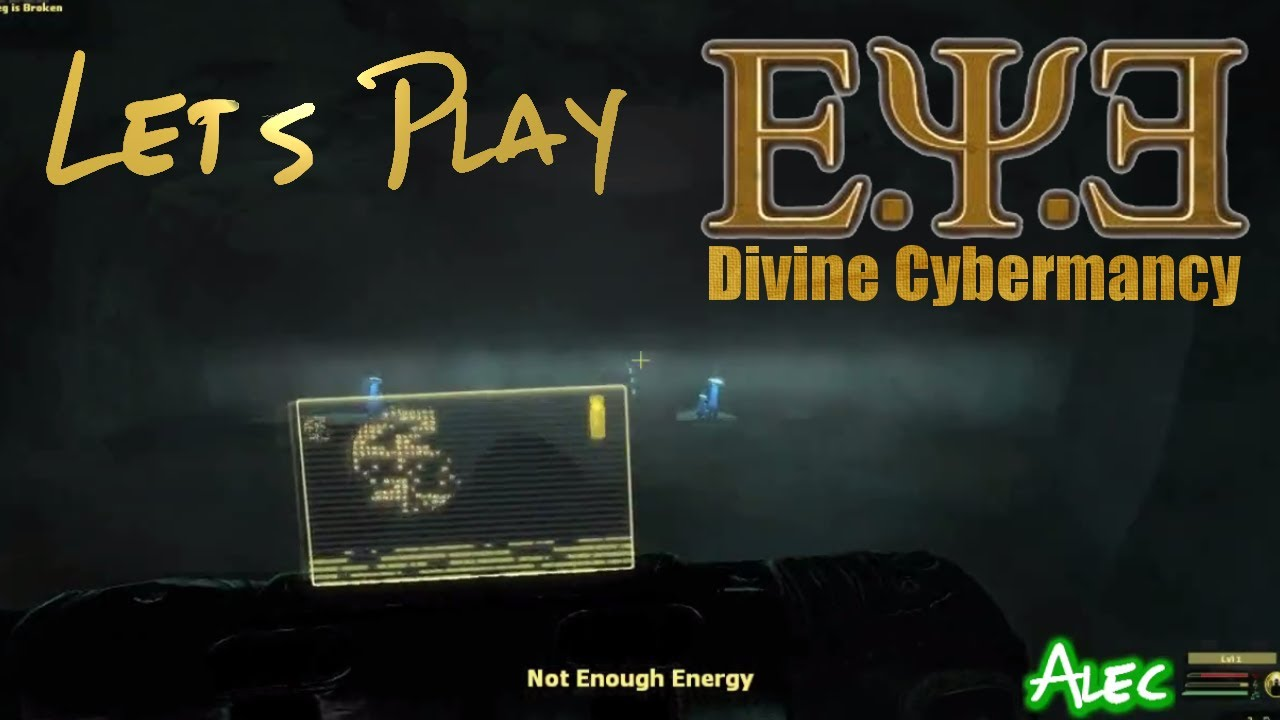 Embedded thumbnail for Let's Play E.Y.E. Divine Cybermancy Part 2