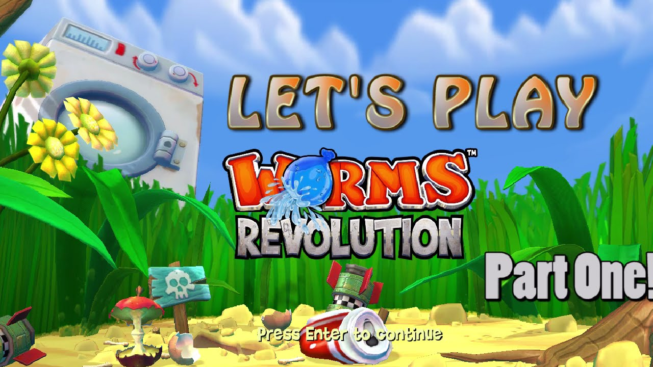 Embedded thumbnail for Let's Play Worms Again Part 1