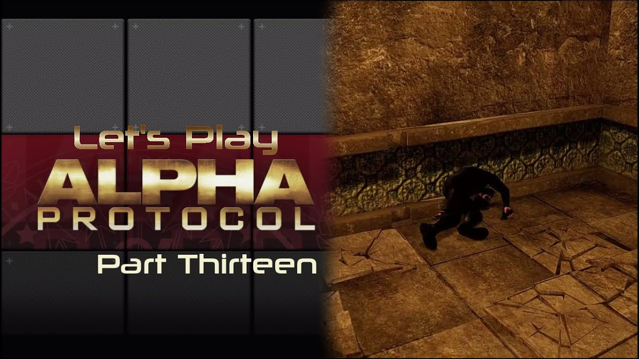 Embedded thumbnail for Let's Play Alpha Protocol - Part Thirteen - Be Like Batman
