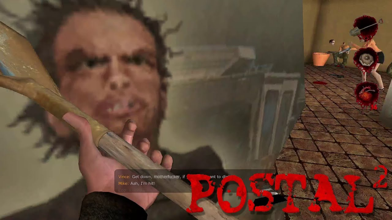 Embedded thumbnail for Games Are bad - Let's Play Postal 2 Nicks Coop Part Two