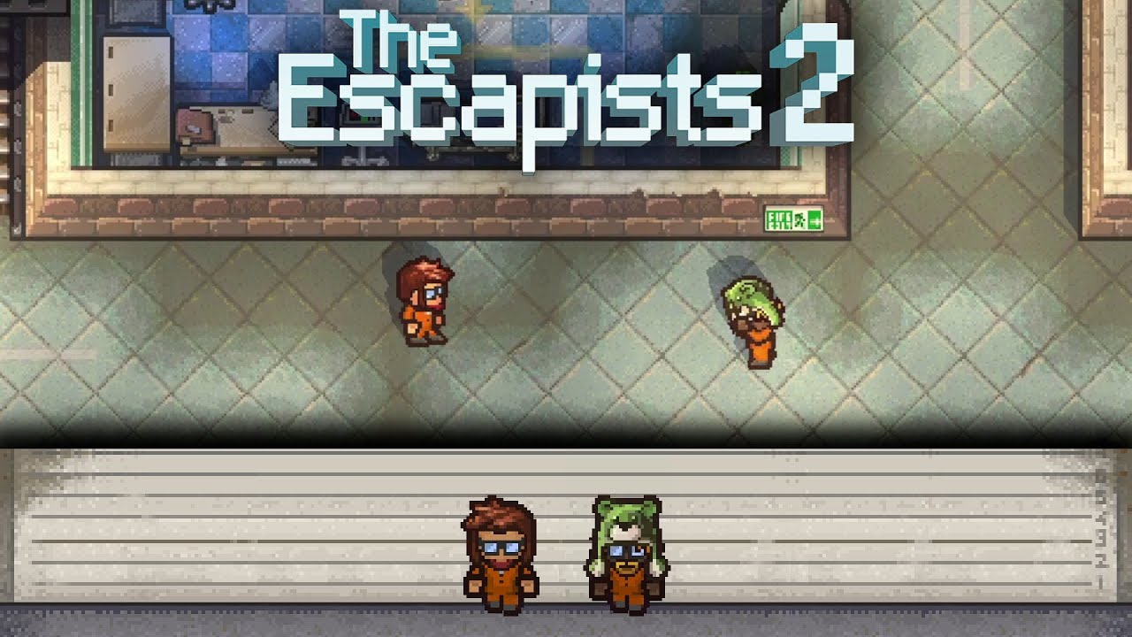 Embedded thumbnail for Locked Up - The Escapists 2: Center Perks 2.0, Day 1