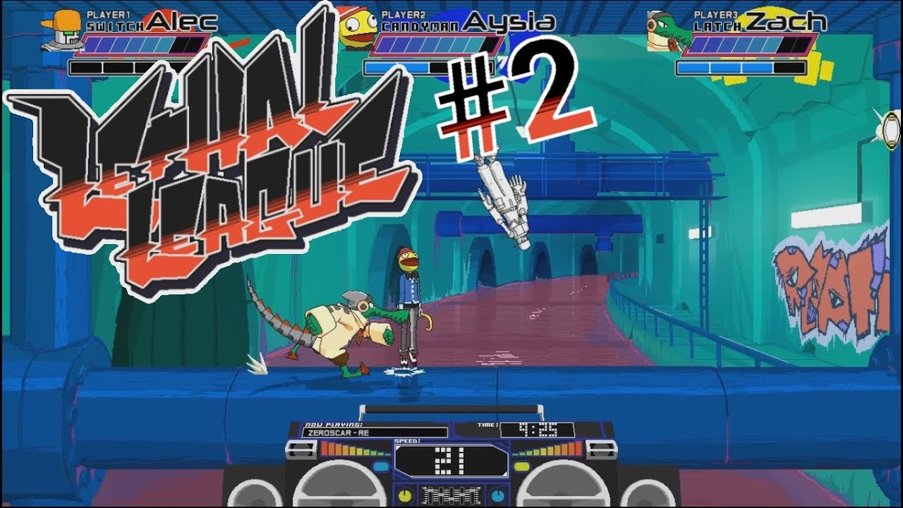 Embedded thumbnail for Let's Play Lethal League - Part 2 - Massive Gator