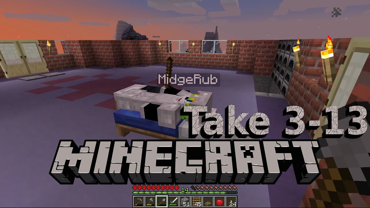 Embedded thumbnail for Awash in Dirt and Logs - Minecraft Hardcore Take 3, Part 13