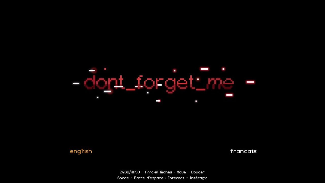 Embedded thumbnail for dont_forget_me - Free to Play Friday