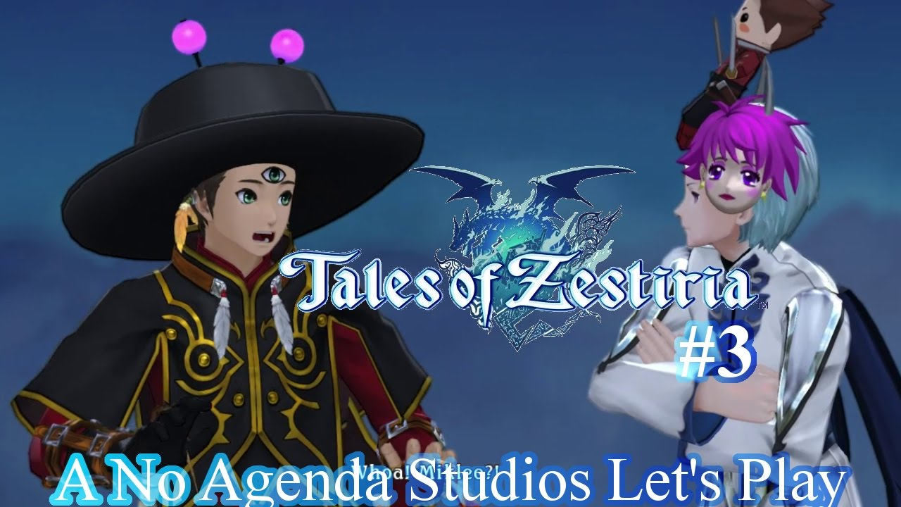 Embedded thumbnail for Let's Play Tales of Zestiria - Part 3 - Yes it's a Fake Sword