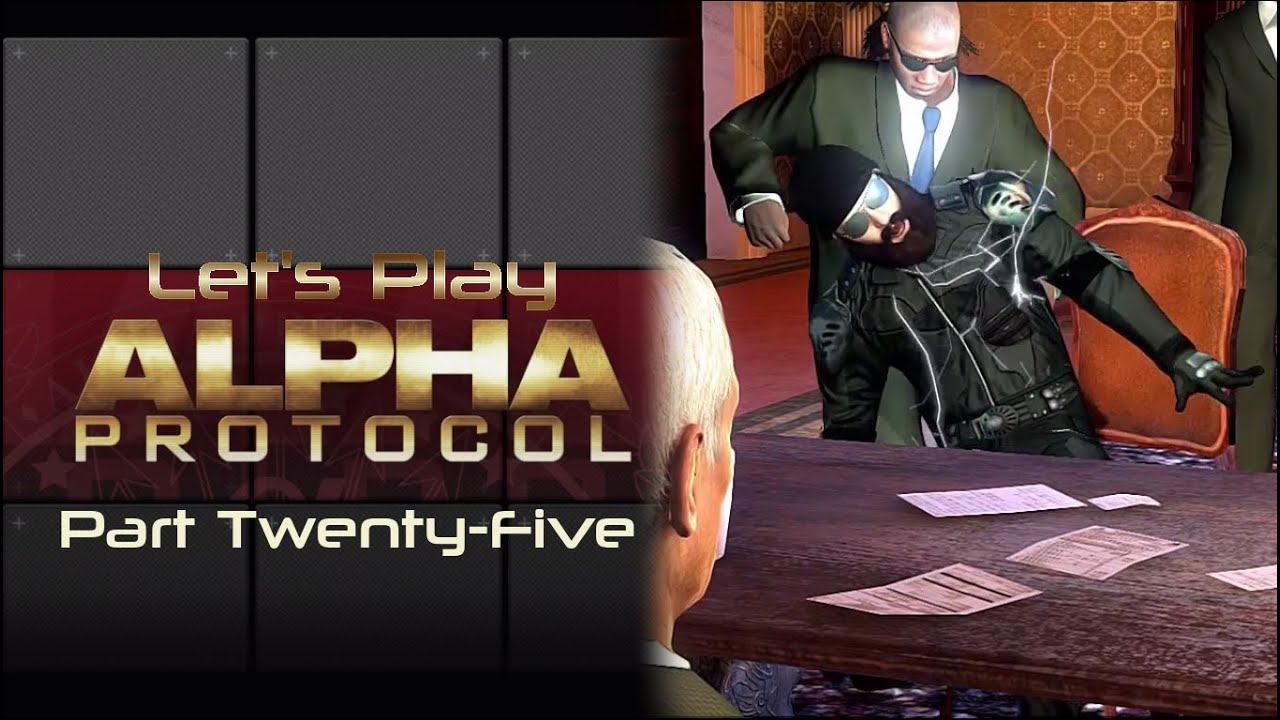 Embedded thumbnail for Let's Play Alpha Protocol - Part Twenty-Five - DinoLady