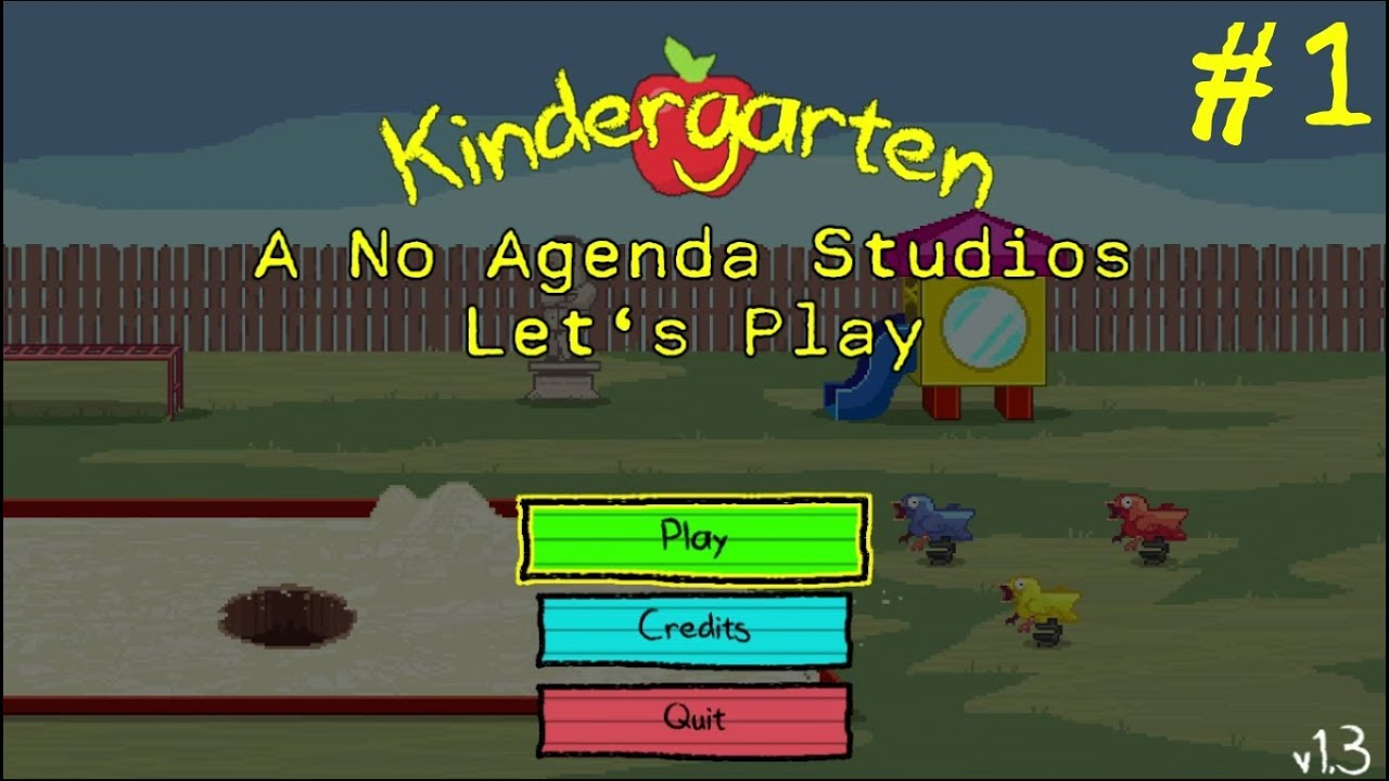 Embedded thumbnail for Let's Play Kindergarten Part One - Grave Error