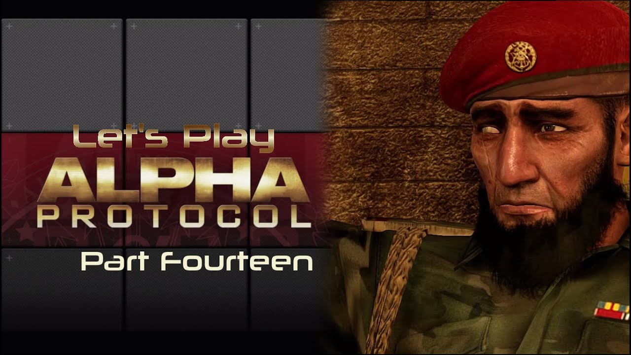 Embedded thumbnail for Let's Play Alpha Protocol - Part Fourteen - Nasri