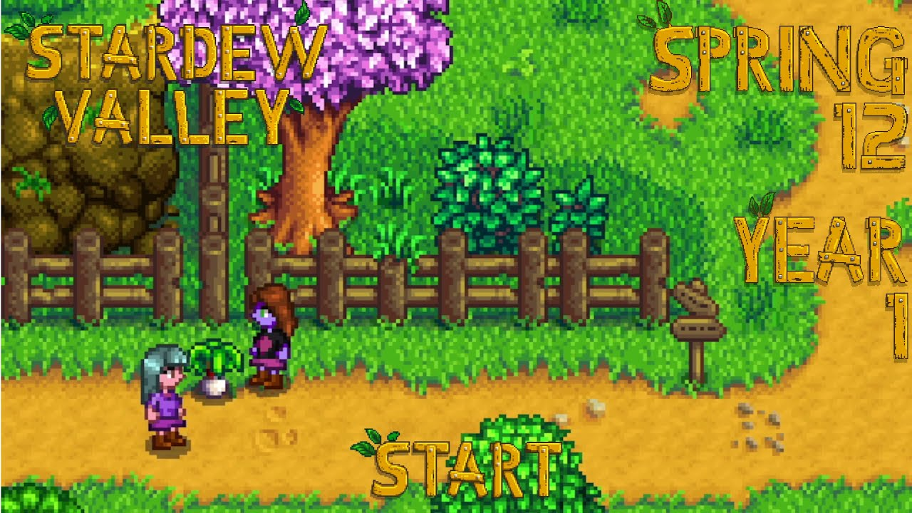 Embedded thumbnail for Curfew - Stardew Valley, Spring 12, Year 1, Start