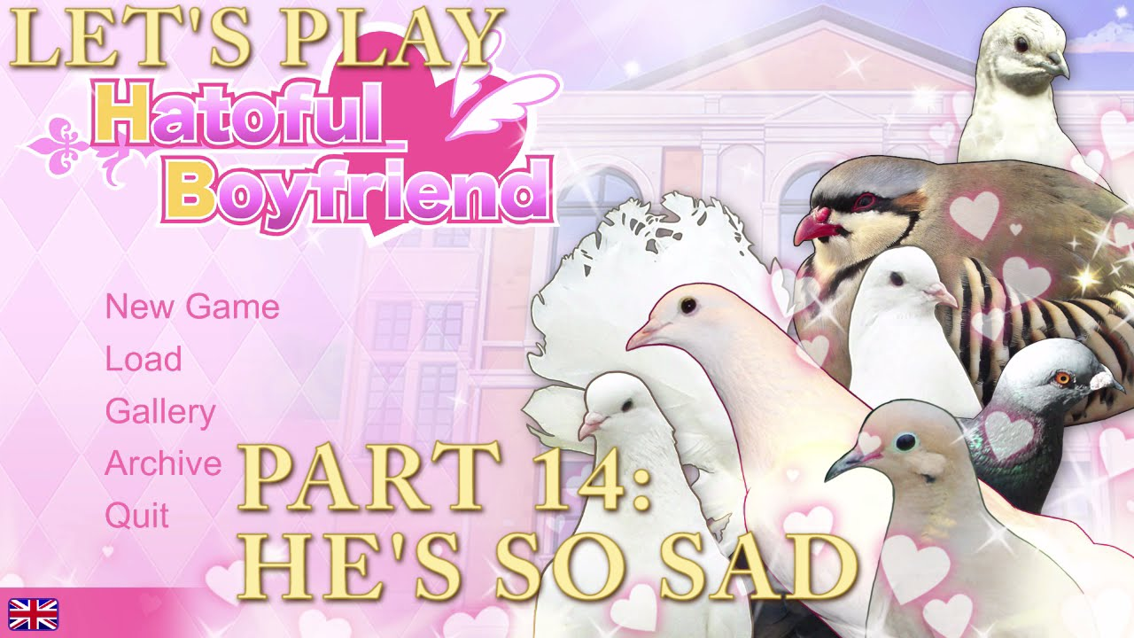 Embedded thumbnail for Let's Play Hatoful Boyfriend Part 14: He's So Sad