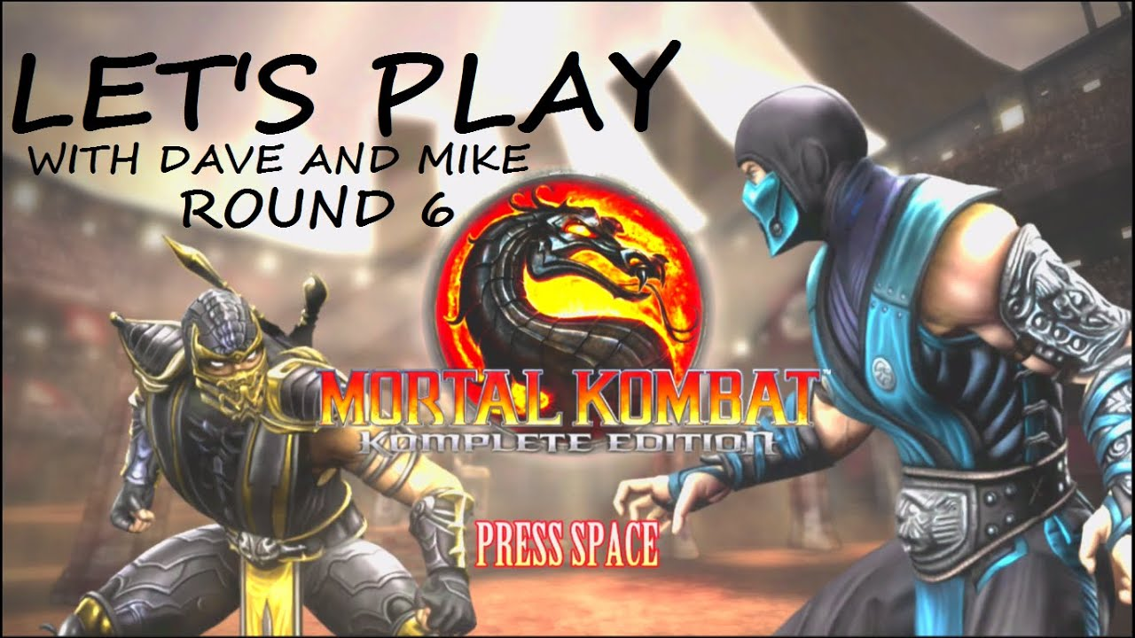 Embedded thumbnail for Let's Play Mortal Kombat Round 6