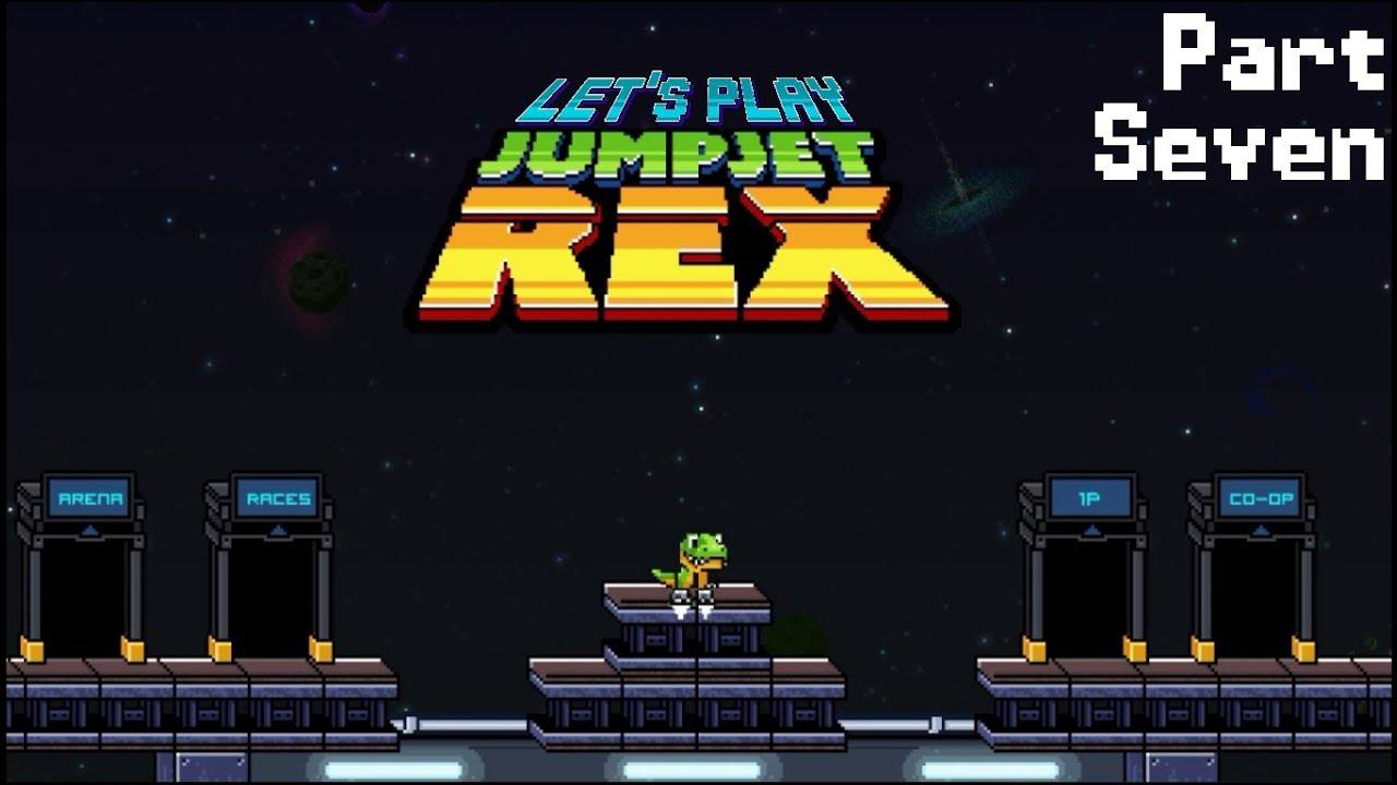 Embedded thumbnail for Let's Play JumpJet Rex - Part Seven