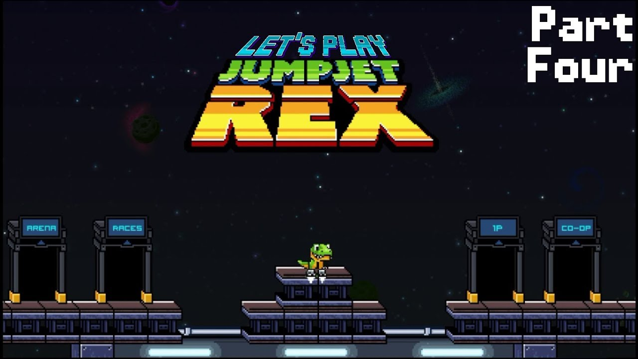 Embedded thumbnail for Let's Play JumpJet Rex - Part Four