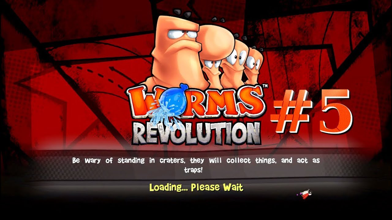 Embedded thumbnail for Daruma-san Fell Down -  Let's Play Worms: Revolution Part 5