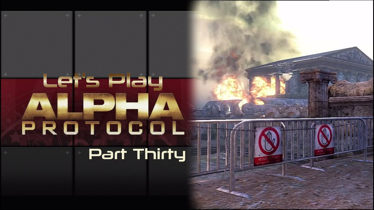 Embedded thumbnail for Let's Play Alpha Protocol - Part Thirty - Remember the Alamo