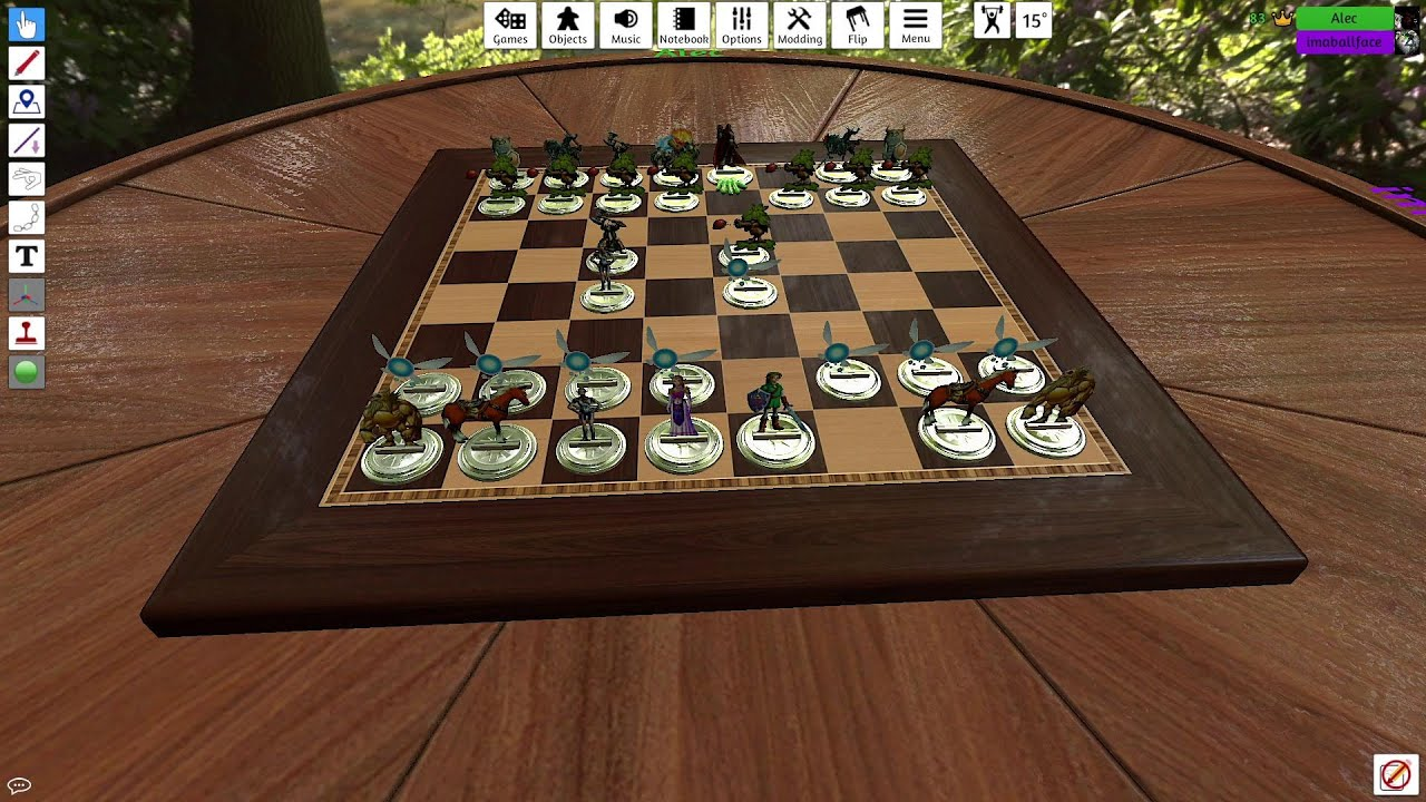 Embedded thumbnail for Zelda Chess: Tabletop Simulator Gameplay