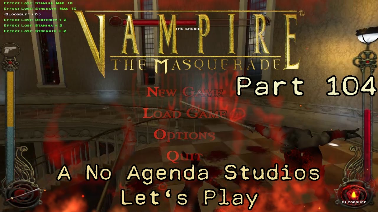 Embedded thumbnail for Let's Play Vampire the Masquerade: Bloodlines - Part 104 - The Sheriff Part II