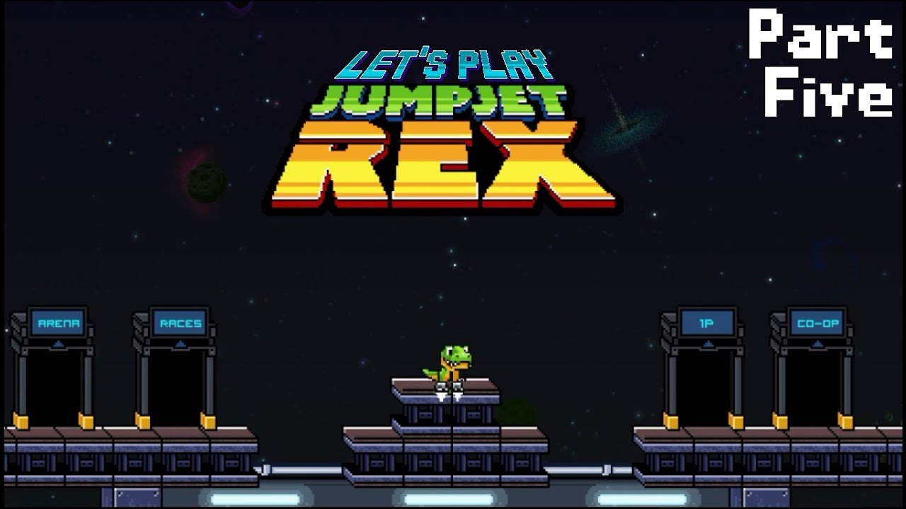 Embedded thumbnail for Let's Play JumpJet Rex - Part Five