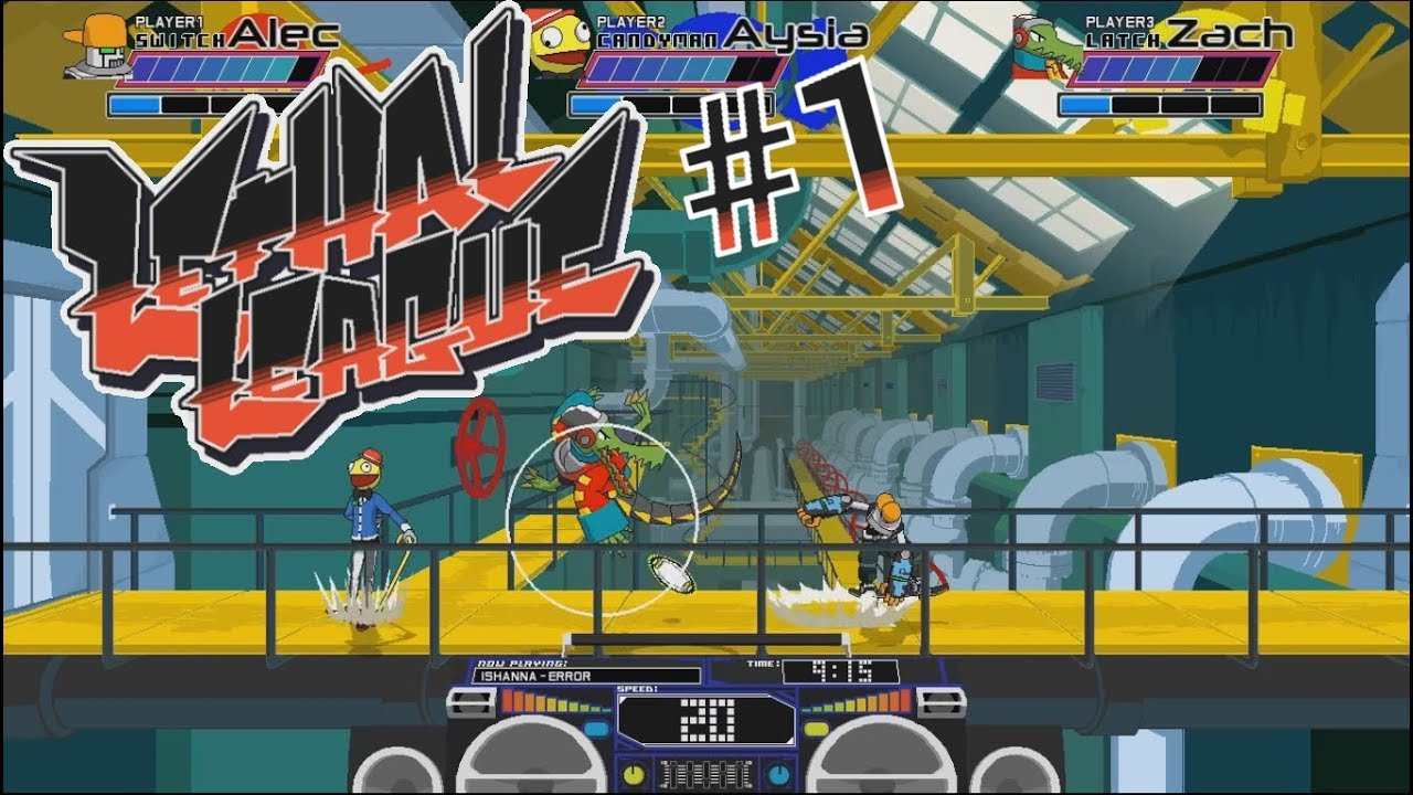 Embedded thumbnail for Let's Play Lethal League - Part 1 - Killer Baseball ATTACK