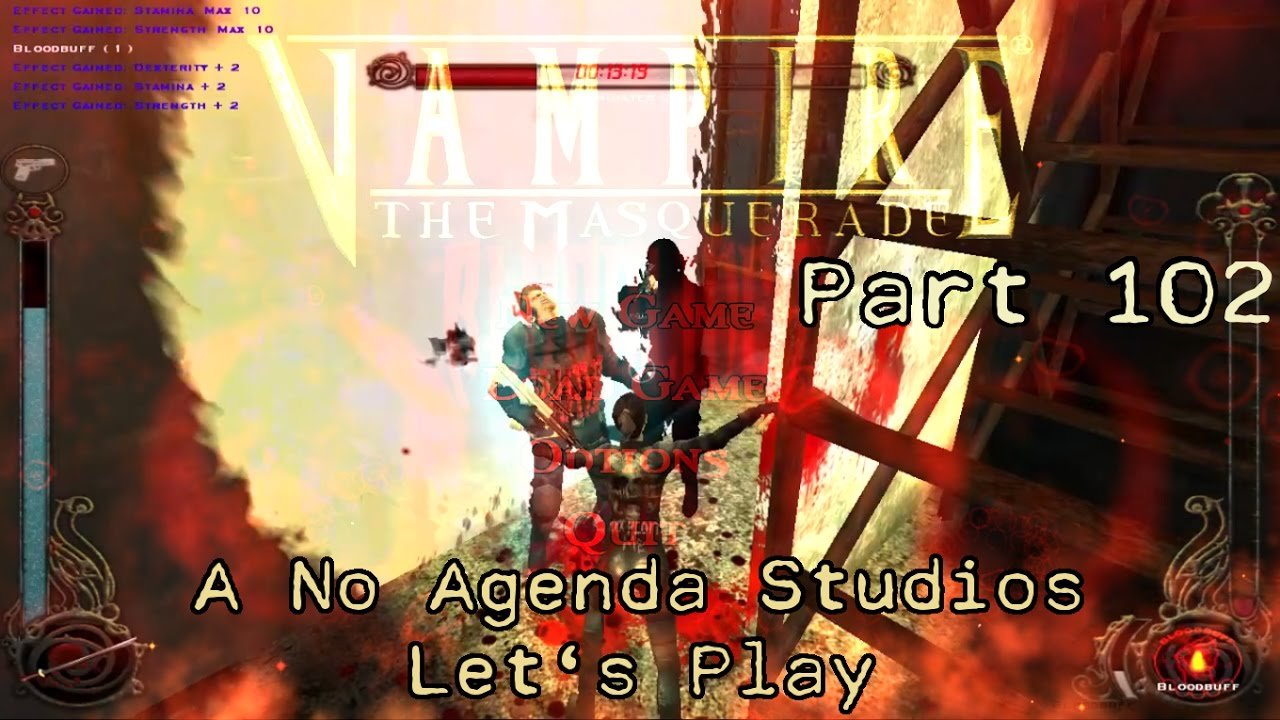 Embedded thumbnail for Let's Play Vampire the Masquerade: Bloodlines - Part 102 - Two Story Garbage