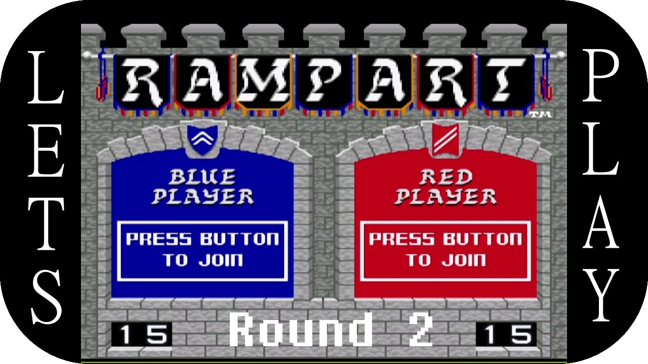 Embedded thumbnail for Let's Play Rampart, Round 2