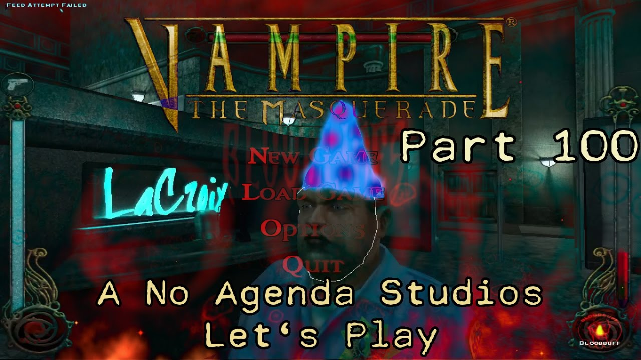 Embedded thumbnail for Let's Play Vampire the Masquerade: Bloodlines - Part 100 - Episode 100 - Number 100