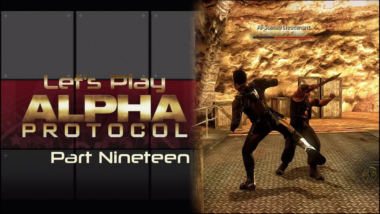 Embedded thumbnail for Let's Play Alpha Protocol - Part Nineteen - Bad Lieutenant