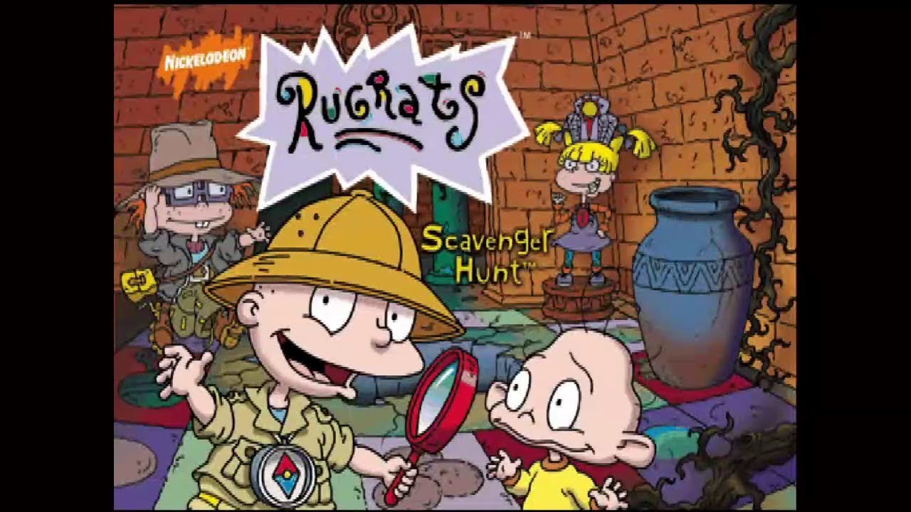 Embedded thumbnail for Let's Play Rugrats: Scavenger Hunt