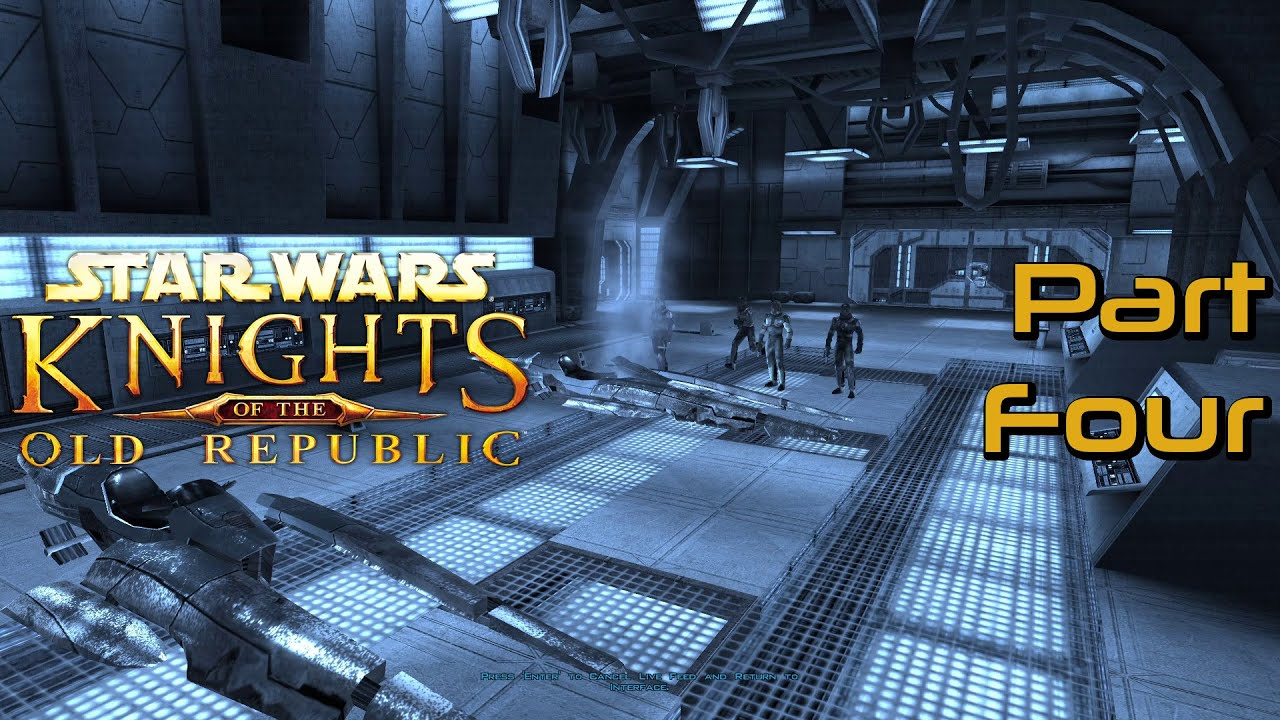 Embedded thumbnail for Swoopin' - Star Wars: Knights of the Old Republic Part Four