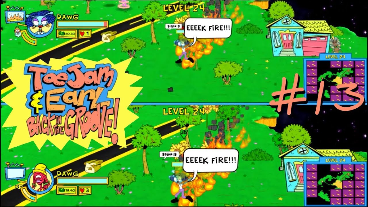 Embedded thumbnail for ToeJam & Earl: Back in the Groove! - 13