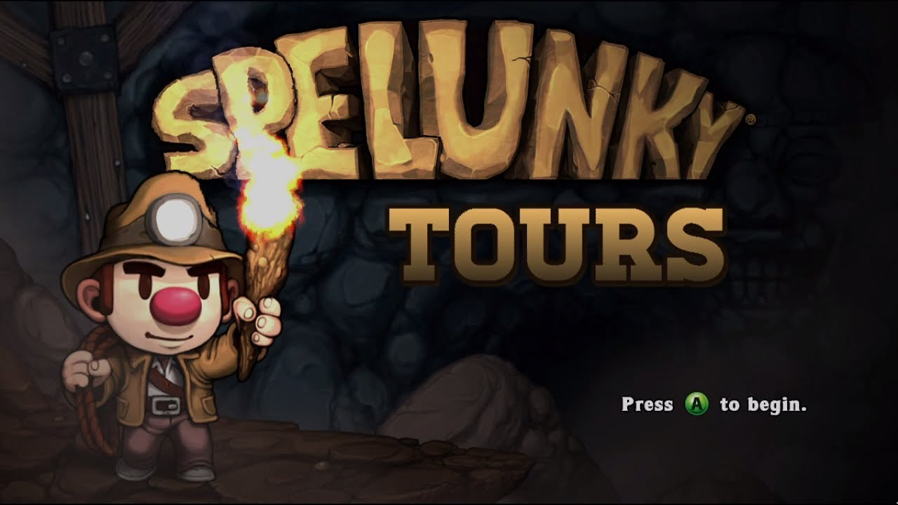 Embedded thumbnail for Spelunky Tours