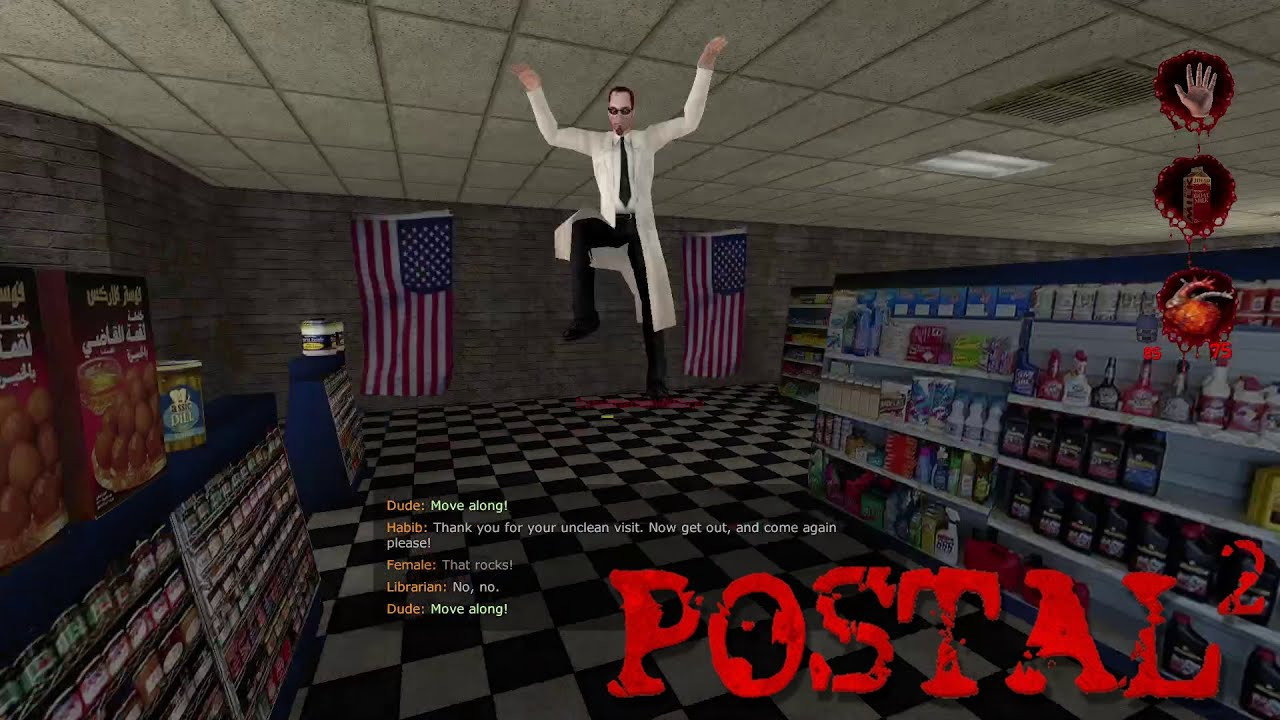 Embedded thumbnail for Milk Run - Let's Play Postal 2 Nicks Coop Part Three