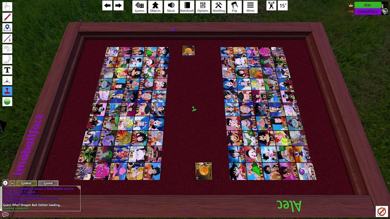 Embedded thumbnail for Guess Who Dragon Ball: Tabletop Simulator Gameplay