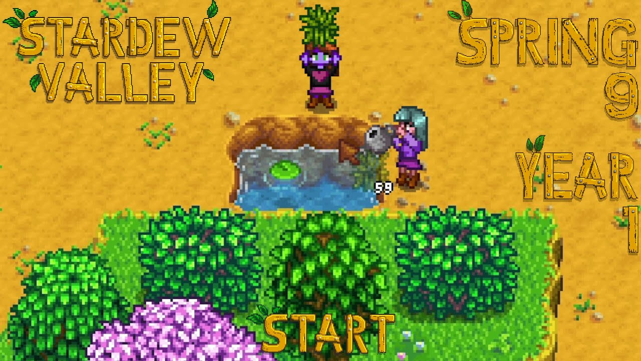 Embedded thumbnail for Training Arc - Stardew Valley, Spring 9, Year 1, Start