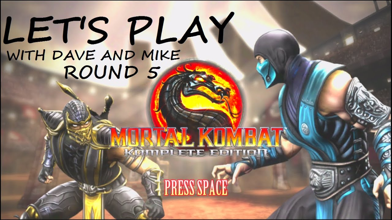 Embedded thumbnail for Let's Play Mortal Kombat Round 5