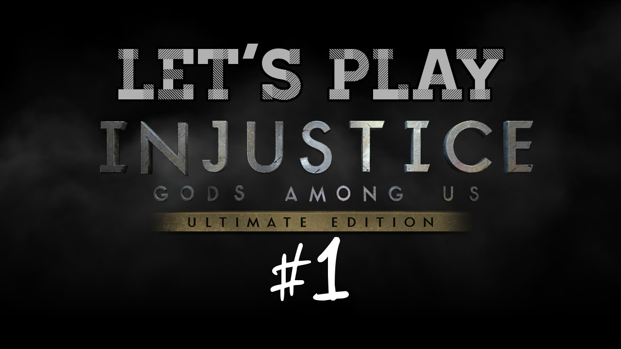 Embedded thumbnail for Let's Play Injustice: Gods Among Us Part One
