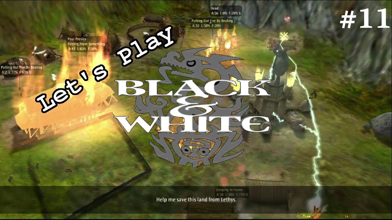 Embedded thumbnail for Let's Play Black & White - Part 11 - Square Up