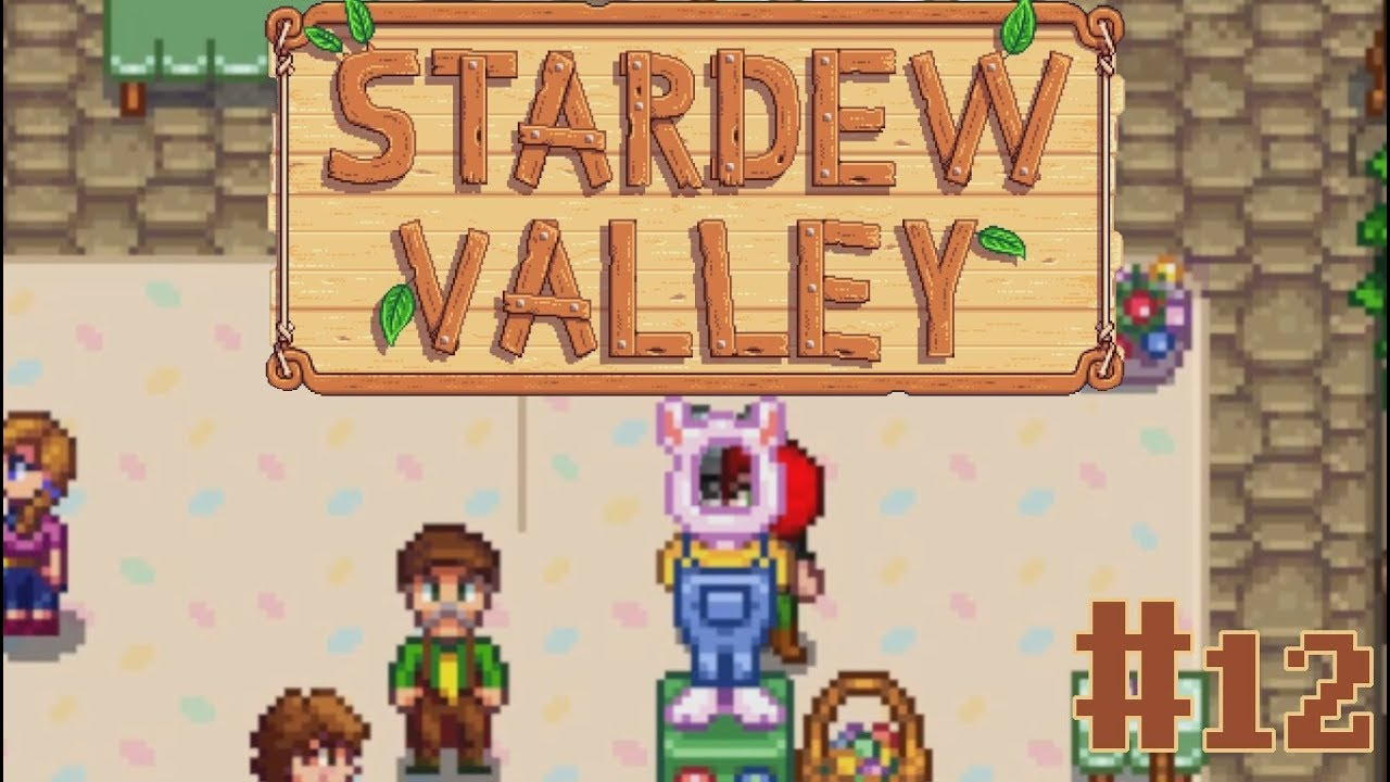 Embedded thumbnail for Let's Play Stardew Valley - Part 12: Nondenominational Egg Hunt