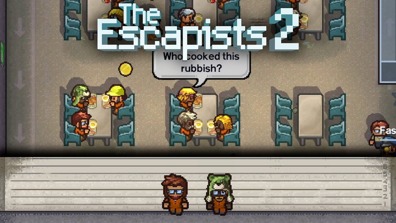 Embedded thumbnail for Questmaster - The Escapists 2: Center Perks 2.0, Day 2