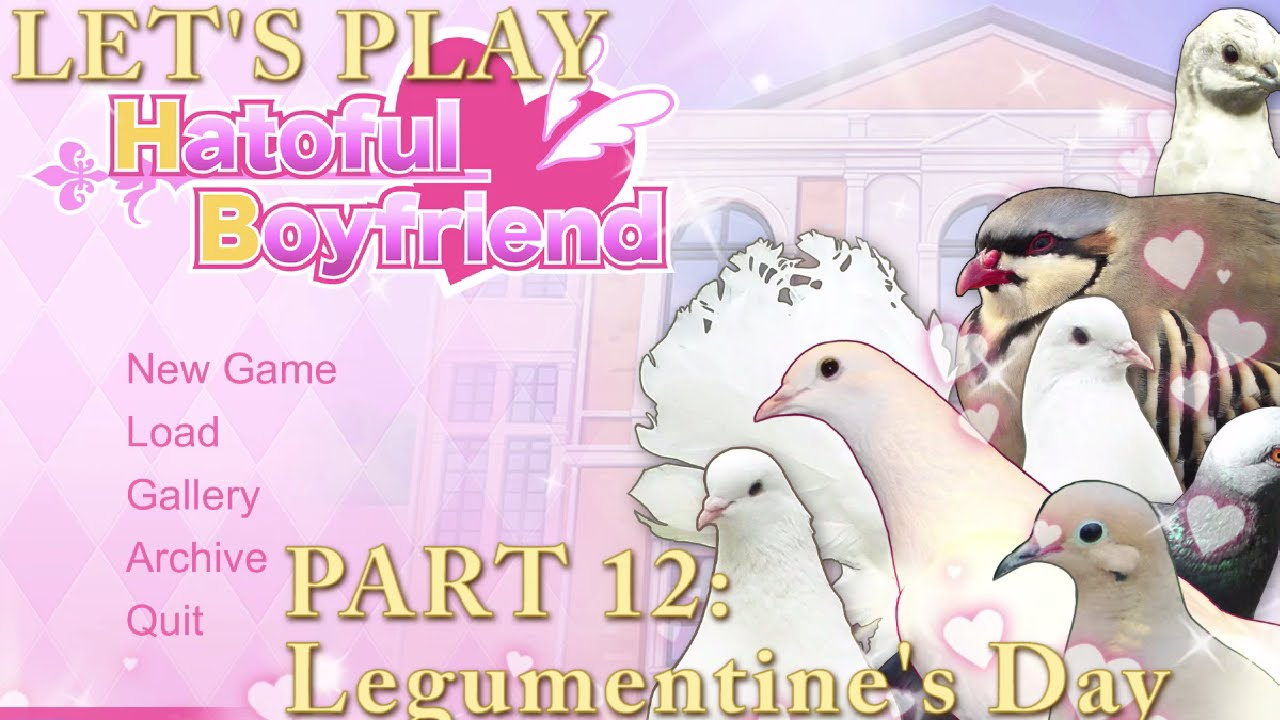 Embedded thumbnail for Let's Play Hatoful Boyfriend Part 12: Legumentine's Day