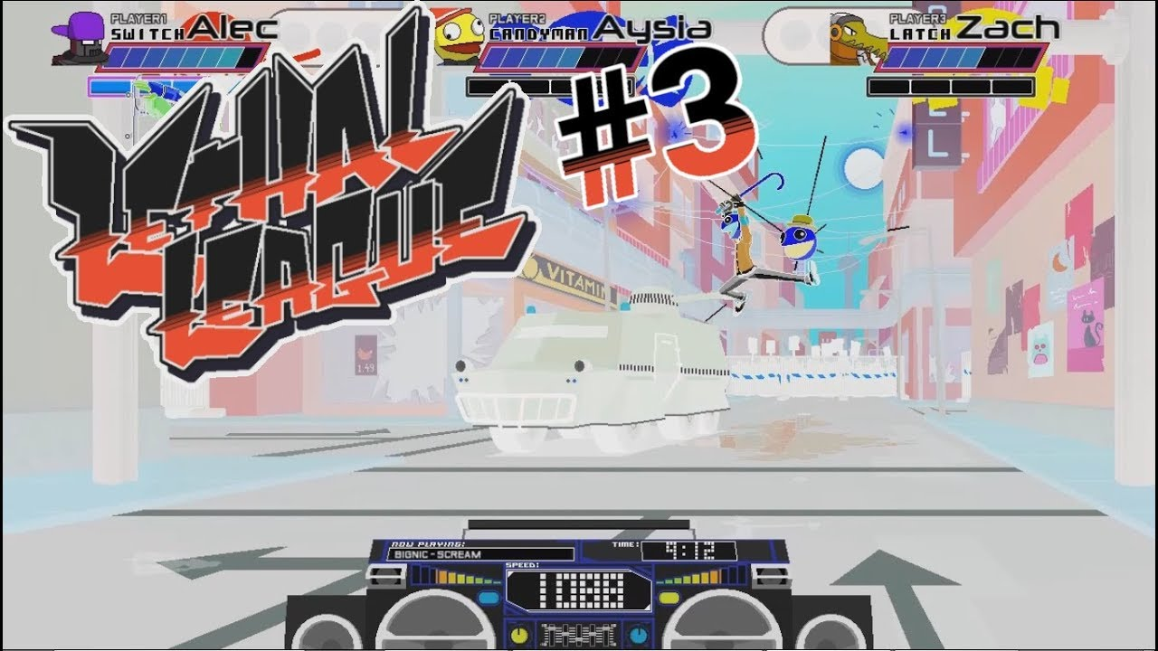 Embedded thumbnail for Let's Play Lethal League - Part 3 - Hotting Up