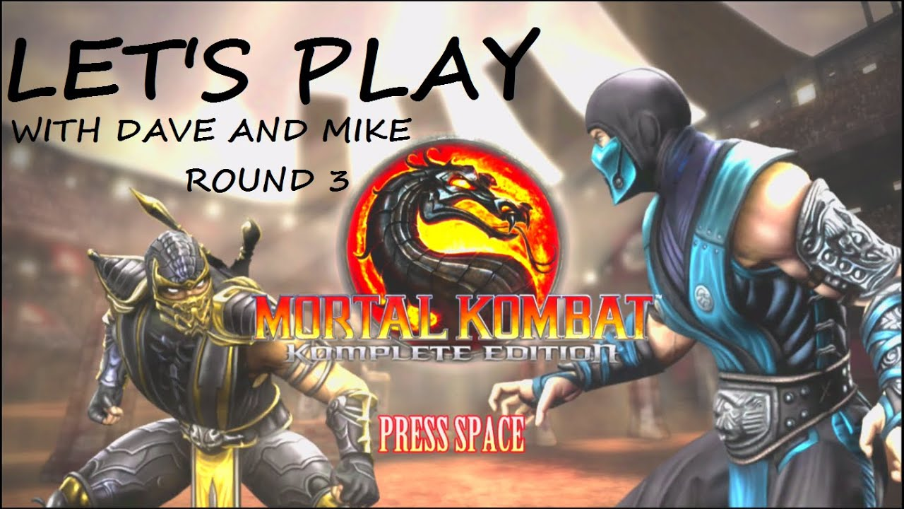 Embedded thumbnail for Let's Play Mortal Kombat Round 3