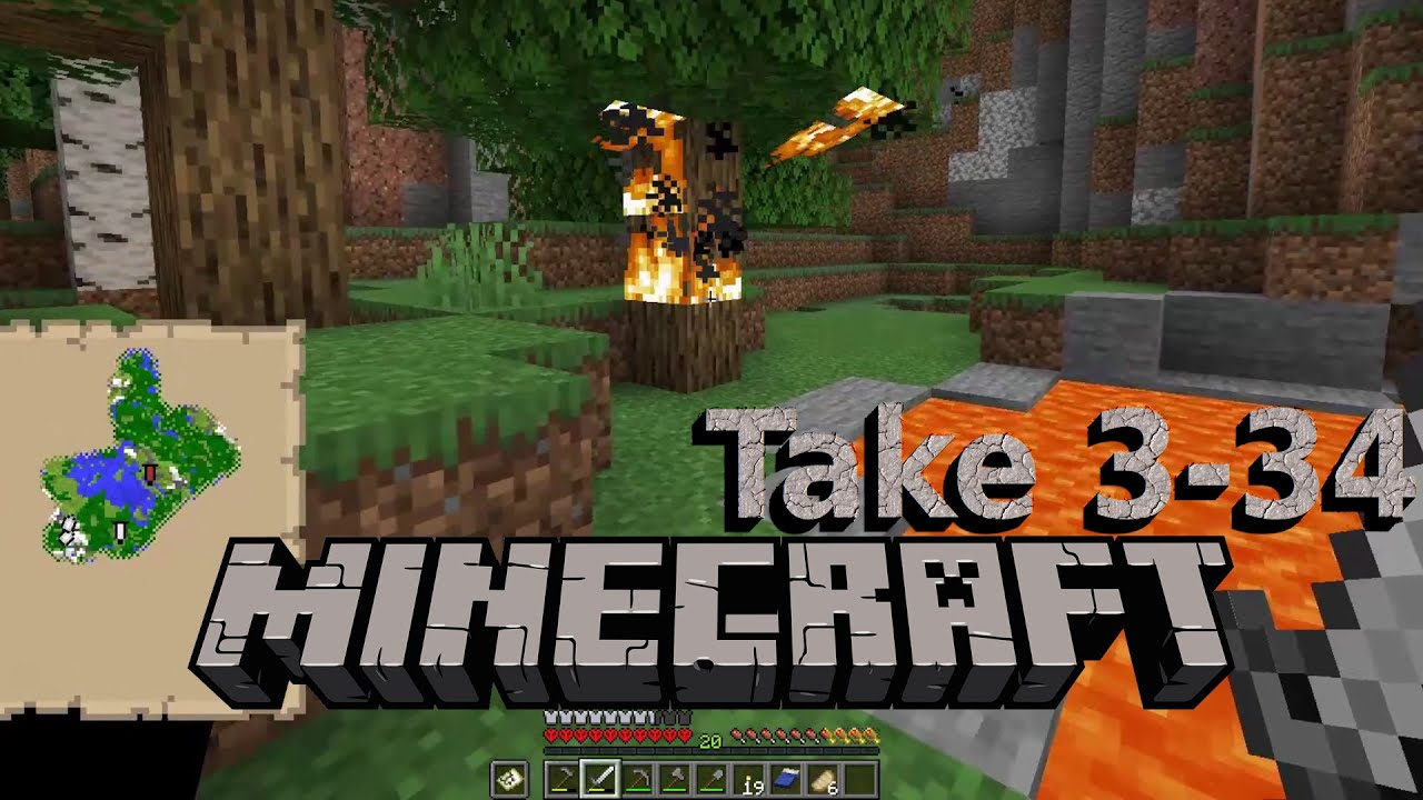 Embedded thumbnail for Burn Party - Minecraft Hardcore Take 3, Part 34