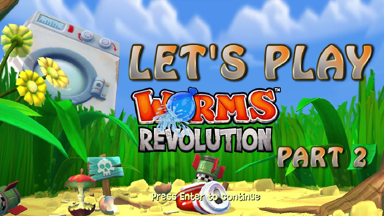 Embedded thumbnail for Let's Play Worms Again Part 2: It Puts the Lotion on the Skin