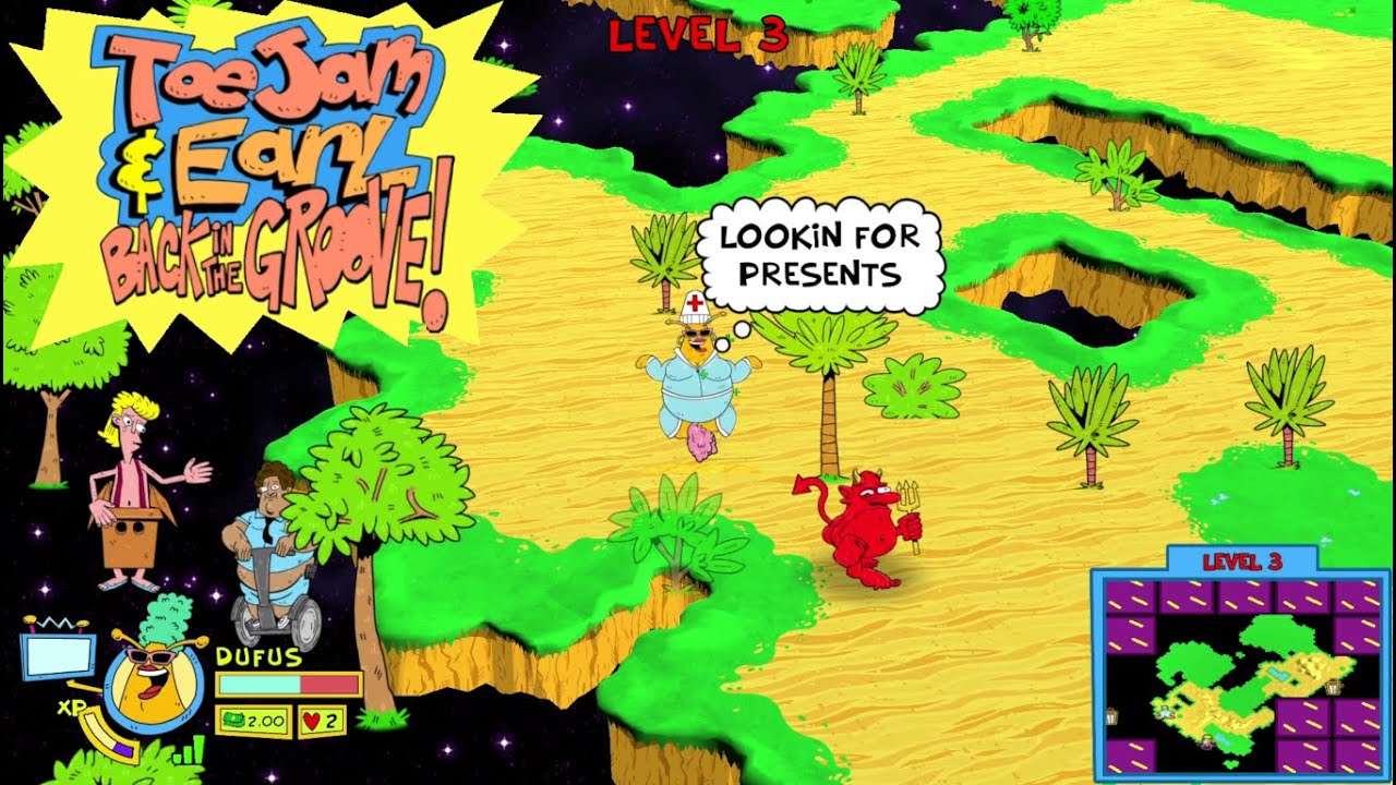 Embedded thumbnail for Flo's Fancies - ToeJam & Earl: Back in the Groove! - 16