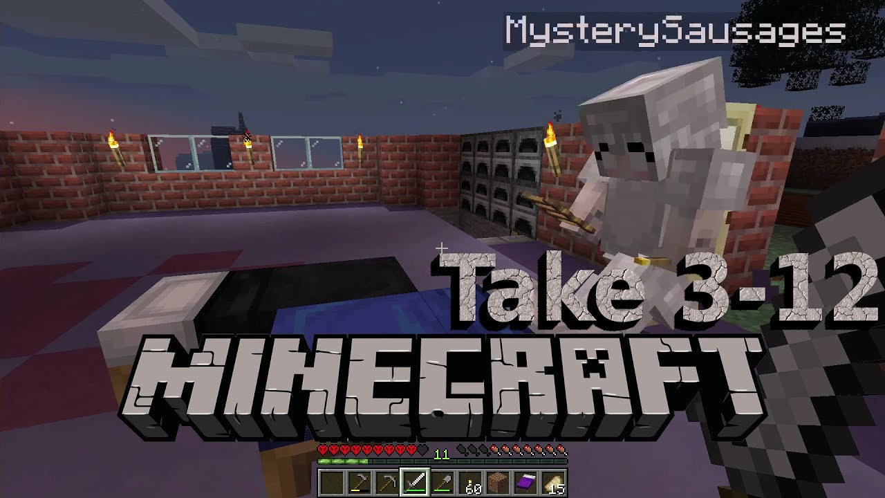 Embedded thumbnail for Sticks and Dirt - Minecraft Hardcore Take 3, Part 12